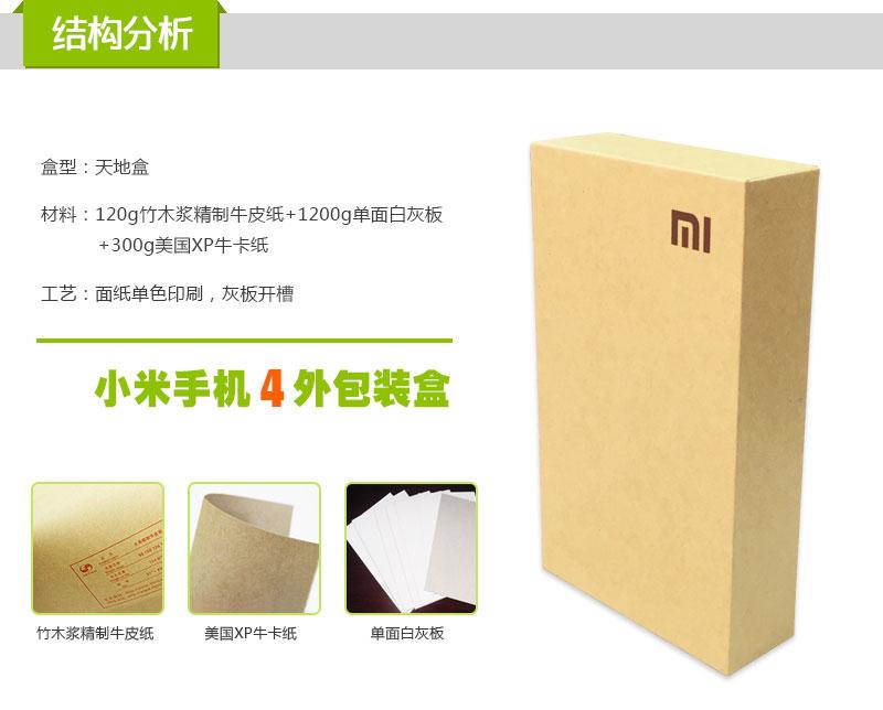 小米手機包裝盒