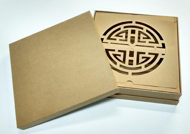 茶叶牛皮纸礼盒