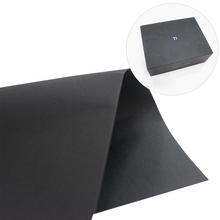 环保黑卡纸 厂家供应黑卡纸 礼品盒手提袋专用纸