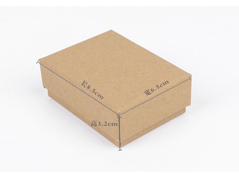 牛皮纸饰品盒包装案例
