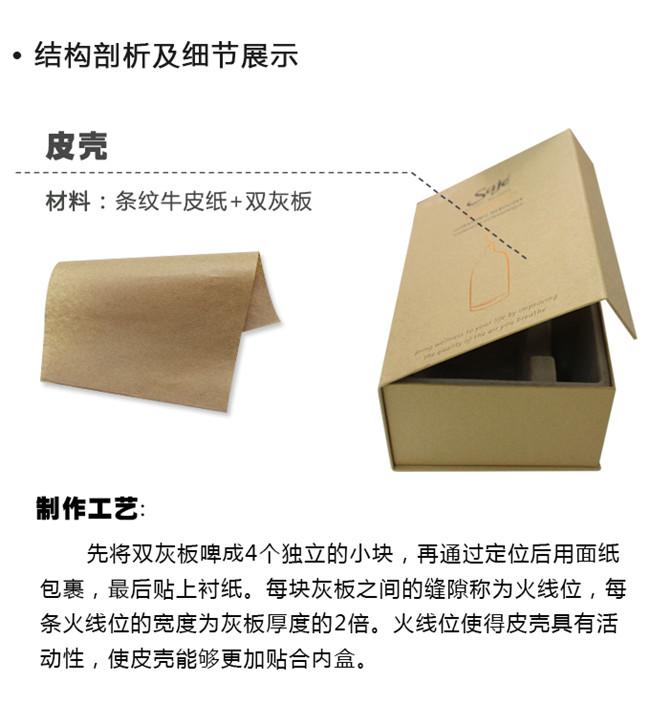条纹牛皮纸包装